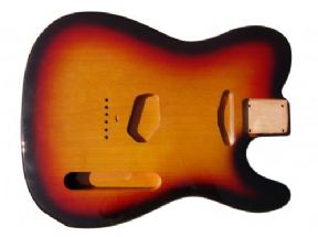 TELE BODY 3 TONE SUNBURST